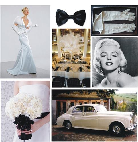 Wedding Theme: Old Hollywood Couture | Visuelle Productions\'s Bridal ...