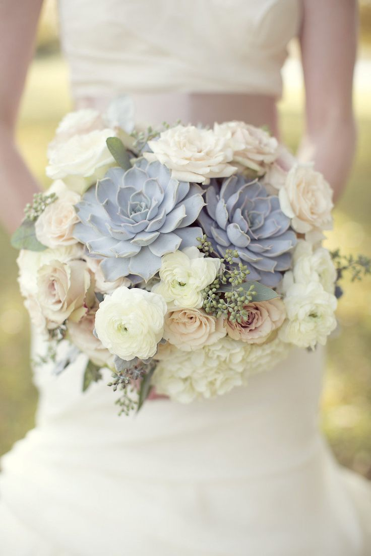 Dusty Blue and Burnt Orange | Visuelle Productions\'s Bridal Show Blog