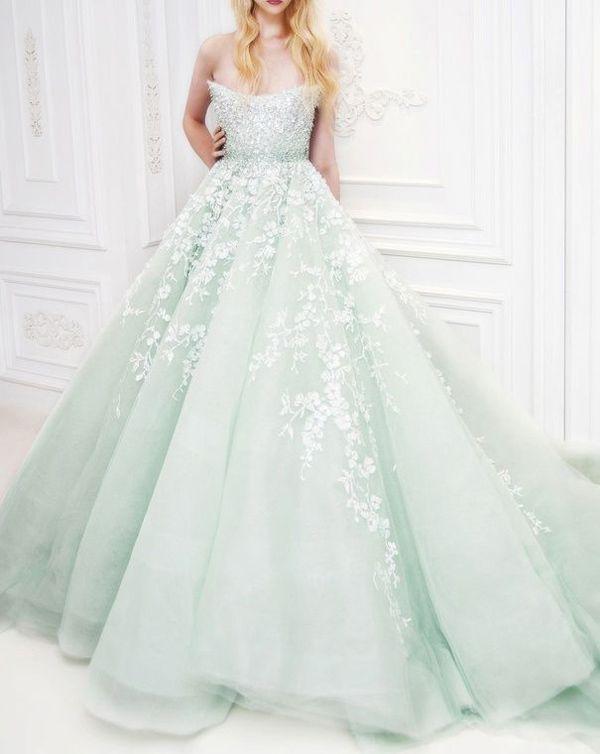 Eight fab not white wedding dresses visuelle for Not white wedding dresses
